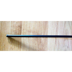 Funda de cable acero laminado para acelerador. Negra. Ø 5mm. Con Teflon.