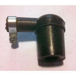 Silicone spark plug cap.