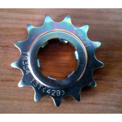 Bultaco front sprocket 428. 13 teeth.