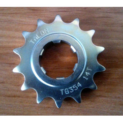 Bultaco front sprocket 428. 14 teeth.