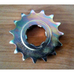 Bultaco front sprocket 428. 15 teeth.