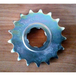 Bultaco front sprocket 428. 17 teeth.