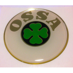 Thick tank badges for Ossa.