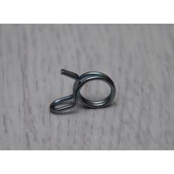 Gasoline pipe clip.