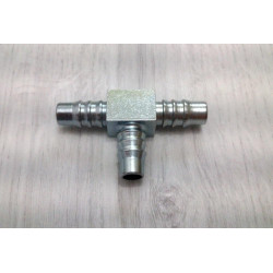 T-type connector for petrol pipe.