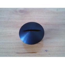 Aluminum oil filler cap Bultaco. Black.