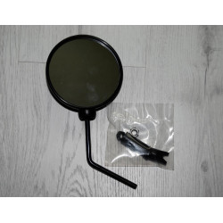 Rearview mirror. Bar-end fitting. Ø110 mm