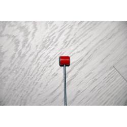Cable de acero embrague y freno cabeza roja.