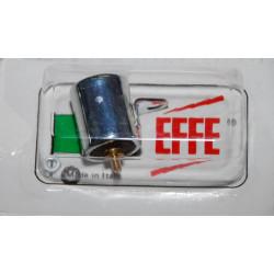Condensador para encendido Motoplat con tornillo.