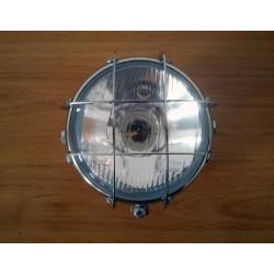 Headlight with chrome grille suitable for Bultaco Sherpa - Lobito - Alpina - Matador.