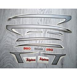 Adhesives Bultaco Alpina 350 set.