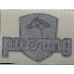 Bultaco Pursang silver adhesive.