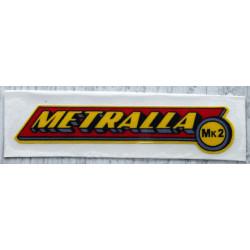 Adhesive Bultaco Metralla MK2.