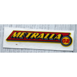 Adhesive Bultaco Metralla 62.