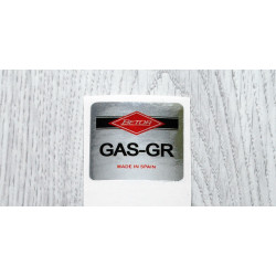 Betor Gas-GR chrome adhesive.
