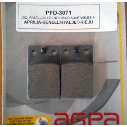Montesa Enduro brake pads H7.