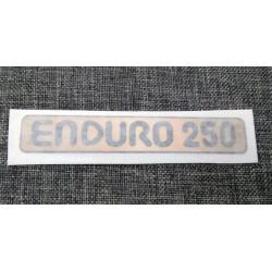 Montesa Enduro 250 adhesive deposit.
