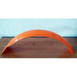 Orange front fender trial.