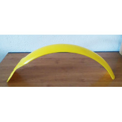 Yellow front fender trial.
