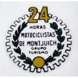 Adhesive Bultaco 24H transparent.