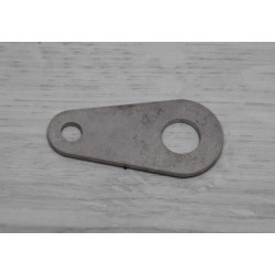 Chain cover fixing support.