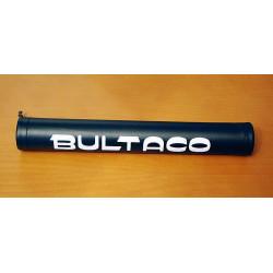 Protector manillar Bultaco negro.