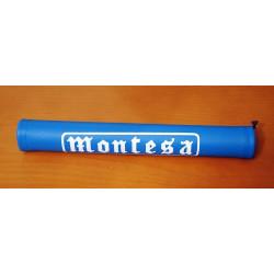 Protector Montesa blue handlebar.