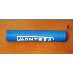 Montesa short handlebar protector blue.