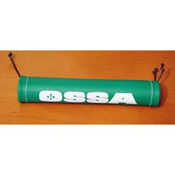 Short handlebar brace Ossa green.