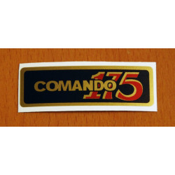 Black sticker Montesa Impala Comando 175.