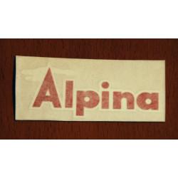 Red Alpine Adhesive.