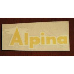 Yellow Alpine Adhesive.