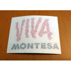 Adhesive Viva Montesa.