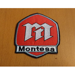 Embroidered patch Montesa.