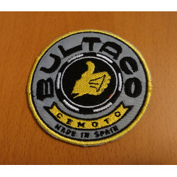 Bultaco embroidered patch.