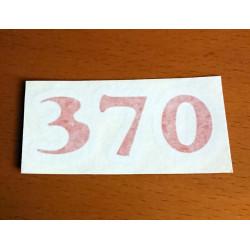 Bultaco Adhesive 370.