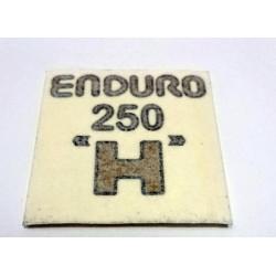 Adhesive Montesa Enduro 250 H.