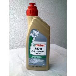 Castrol MTX gearbox oil...