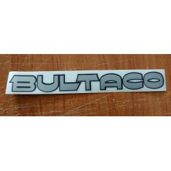 Bultaco adhesive deposit.