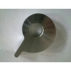 Excéntrica de aluminio ajuste cadena.
