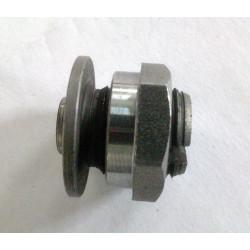 Set adjustment screw and nut Bultaco clutch.
