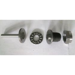 Set screw, nut, mushroom and axial motor Bultaco clutch.