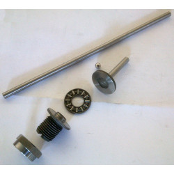 Set dipstick, ball, dipstick elongation, axial, regulating screw and nut for clutch Bultaco engines.