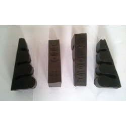Set antivibration rubbers cylinder Ossa.